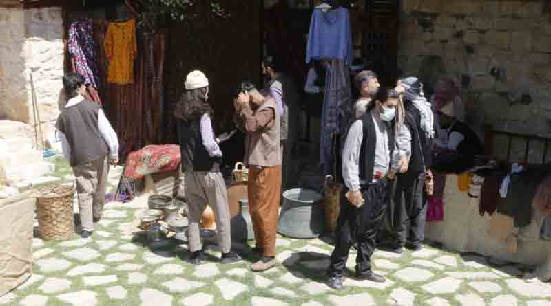 TRT Bünyesinde Kısa Film Çekimleri Elazığ'da Gerçekleştirildi